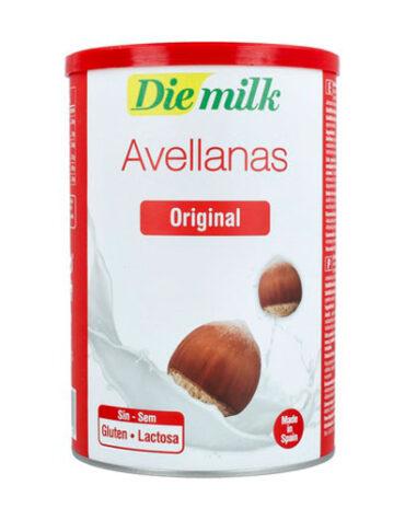 Disfruta de las bebidas solubles DieMilk Avellanas 400 g