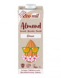 Descubre nuestras bebidas ECOMIL ALMENDRA CLASSIC BIO S/GLUTEN VEGANA 1L