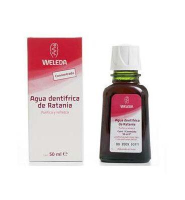 Cuidate con nuestros productos de higiene bucal ENJUAGUE BUCAL DE RATANIA 50ml