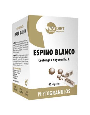 Seleccionamos las mejores plantas en comprimidos ESPINO BLANCO 45 CAP