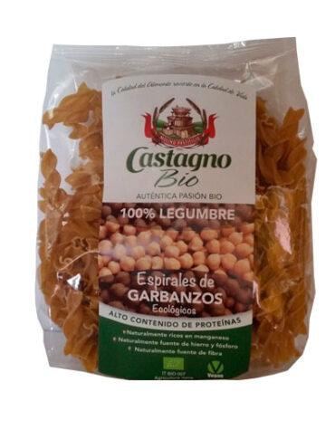 Disfruta del arroz y pasta ESPIRAL DE GARBANZO 250g
