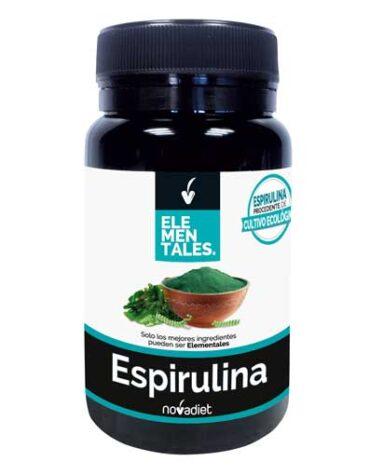 Cuidate con los minerales ESPIRULINA 1500mg 60 CÁPSULAS