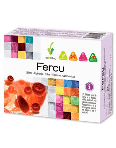 Cuidate con las vitaminas FERCU (CAPSULAS)