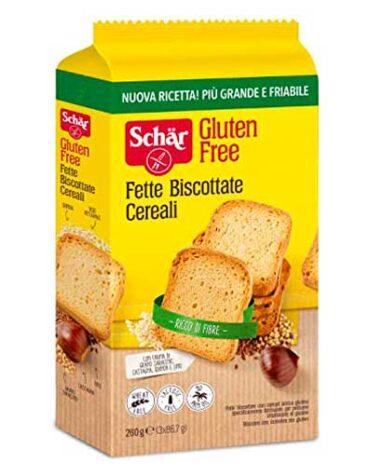 Descubre nuestros productos para celiacos FETTE BISCOTTATE CEREALI