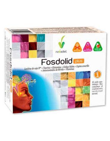 Cuidate con las vitaminas y minerales FOSDOLID PLUS 60 CAPS