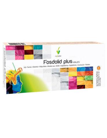 Cuidate con las vitaminas y minerales de FOSDOLID PLUS VIALES