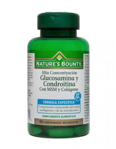 Cuida de tus huesos y articulaciones GLUCOSAMINA CONDROITINA MSM COLAG 60 COMP