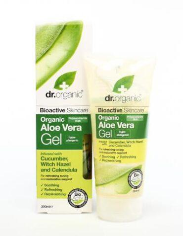 Cuidate con nuestros productos de línea corporal Gel de Aloe Vera Orgánico con pepino, olmo escocés y Caléndula 200ml