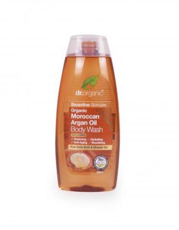 Cuidate con nuestros productos de línea corporal Gel de baño de aceite de Argán Marroquí250ml
