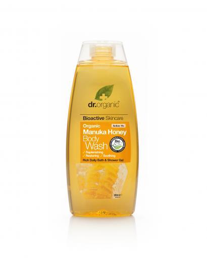 Cuidate con nuestros productos de línea corporal Gel de ducha de miel de Manuka 250ml