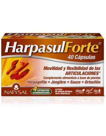 Cuida de tus huesos y articulaciones HARPASUL FORTE 40 CAPSULAS