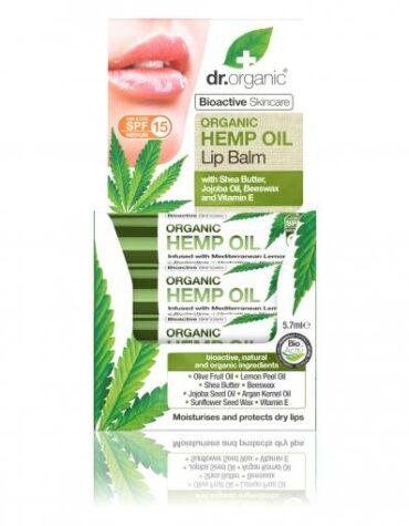 Cuidate con nuestros productos de línea facial Hemp Oil Lip Balm5,7ml