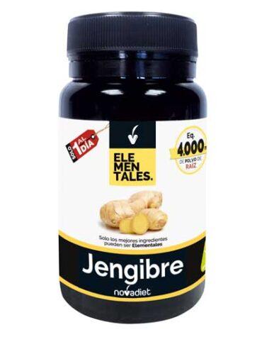 Seleccionamos las mejores plantas en comprimidos JENGIBRE 400mg 30 CÁPSULAS