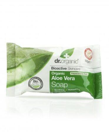 Cuidate con nuestras jabonetas Jabón de Aloe Vera Orgánico 100g