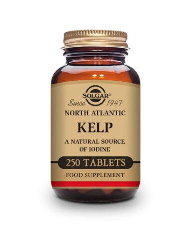 Baja los niveles de colesterol KELP DEL ATLANTICO NORTE (yodo) 250 Comprimidos.