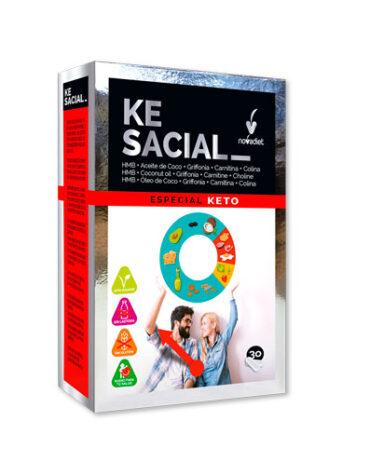 Para ayudar con el control de peso KESACIAL 30 CAP VEG