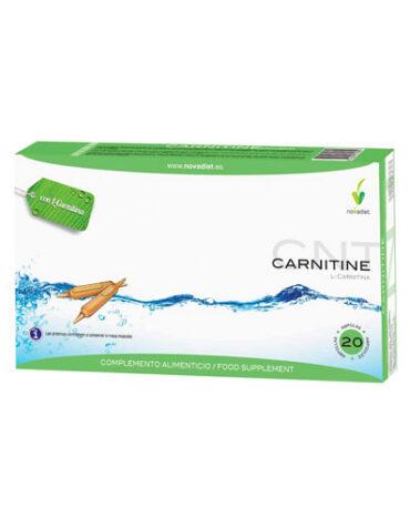 Para ayudar con el control de peso L-CARNITINA 20 AMPOLLAS