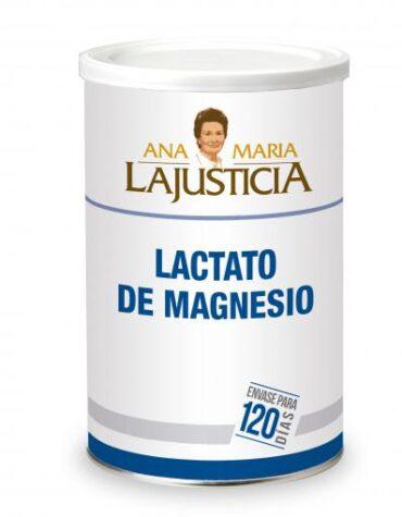Cuidate con los minerales LACTATO MAGNESIO300 GR