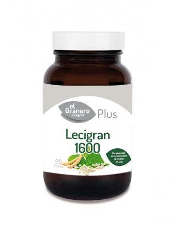 Baja los niveles de colesterol LECIGRAN 1600 (LECITINA DE SOJA), 90 PERlas