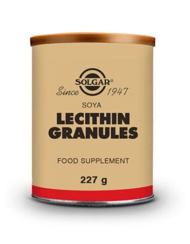 lecitina de soja gránulos baja el colesterol