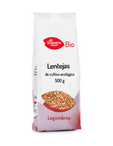 Descubre nuestras legumbres y verduras desecadas LENTEJA PARDINA BIO, 500 g