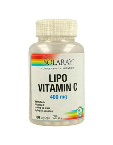 Cuidate con las vitaminas LIPOSOMAL VITAMINA C 500mg 100 caps