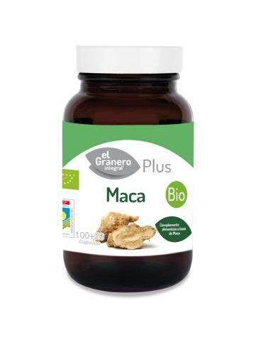 Carga las pilas con jaleas y energeticos MACA BIO, 100 + 20 CÁP, 560 mg