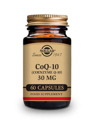 Cuidate con los antioxidantes MAXI COENZIMA COQ-10 30 MG