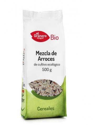 Disfruta del arroz y pasta MEZCLA DE ARROCES BIO, 500 g