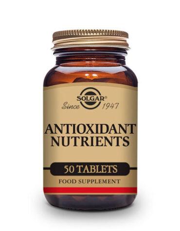 Cuidate con los antioxidantes NUTRIENTES ANTIOXIDANTES 50 COMPRIMIDOS