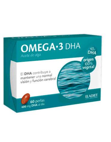 Baja los niveles de colesterol OMEGA 3 ELADIET 60 perlas