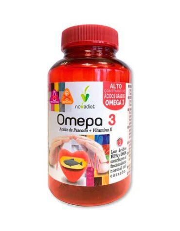 Baja los niveles de colesterol OMEPA 3 90 caps