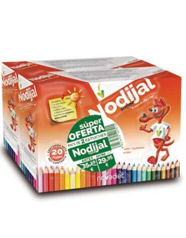 Carga las pilas con jaleas y energeticos PACK OFERTA 2 ESTUCHES NODIJAL SUPER 20 x 2 VIALES