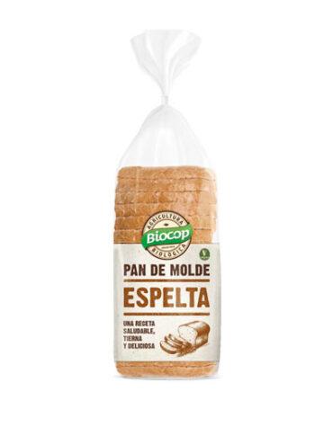 Disfruta de nuestro pan PAN MOLDE BLANDO ESPELTA BLANCO 400G