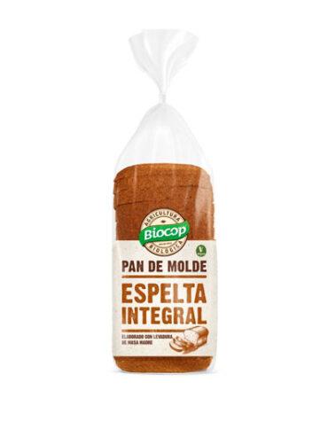Disfruta de nuestro pan PAN MOLDE ESPELTA INTEGRAL BIOCOP 400 G