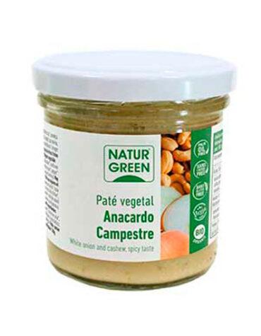 Disfruta de los patés y carnes vegetales PATE VEGETAL ANACARDO 130GR BIO