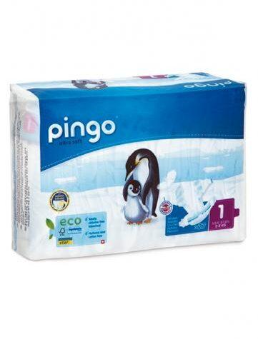 Cuidalos con nuestra higiene infantil PAÑALES T1 RECIEN NACIDO 2-5 KG BIO, 27 UDS