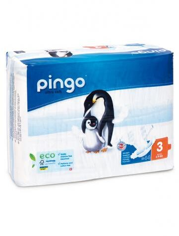 Cuidalos con nuestra higiene infantil PAÑALES T3 4-9 Kg BIO, 44 uds,