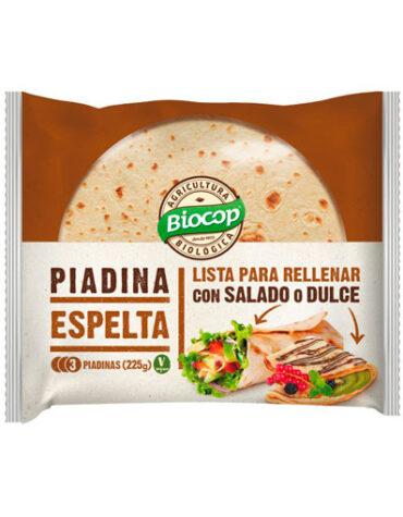 Disfruta de nuestro pan PIADINA ESPELTA BIOCOP 225 G