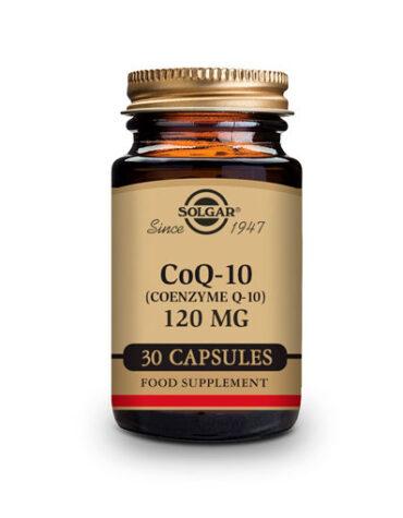 Cuidate con los antioxidantes Q-10 120 MG 30 CAPS