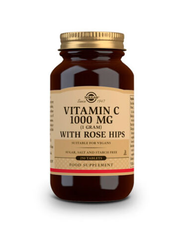 Rerfuerza tu sistema inmunológico ROSE HIPS C 1.000 mg Comprimidos