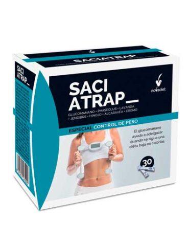 Para ayudar con el control de peso SACIATRAP 30 sobres