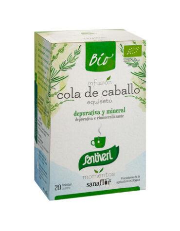 Seleccionamos las mejores plantas en filtro SANAFLOR INF. COLA DE CABALLO BIO