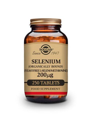 Cuidate con los antioxidantes SELENIO 250 TAB