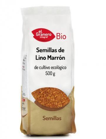 Descubre nuestra variedad de granos y semillas SEMILLAS DE LINO MARRÓN BIO, 500 g