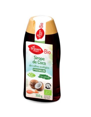 Pon tu punto dulce con azucar y endulzantes SIROPE DE COCO BIO 350 ML.