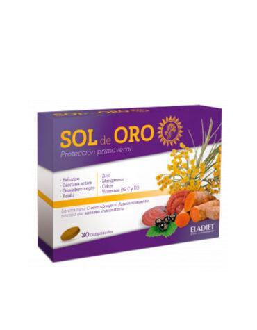 Mejora los sintomas de las alergias SOL DE ORO FORTE 30 COMP.