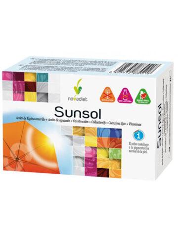 Cuidate con las vitaminas SUNSOL 30 CAPS