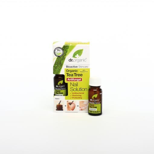Cuidate con nuestros productos de línea corporal Solución para uñas de árbol de té10ml