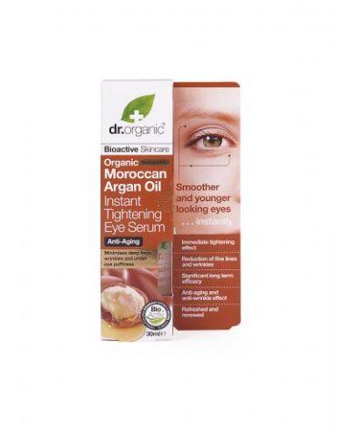 Cuidate con nuestros productos de línea facial Suero para contorno de ojos firmeza instantánea de Argán 30ml